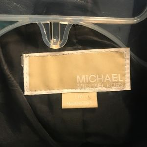 Michael Kors Jackets & Coats - MICHAEL Kors Black Leather Jacket